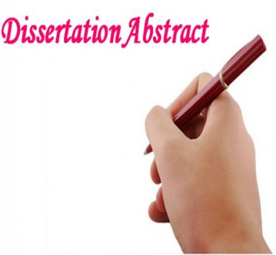 Dissertation abstract com